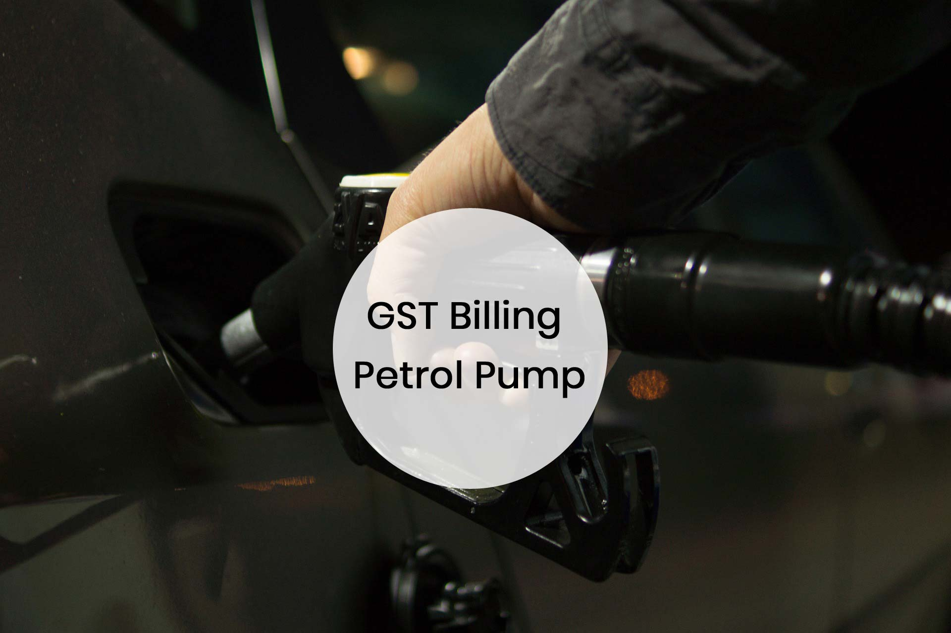 Gst Billing Petrol Pump at Versatile